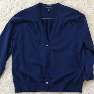 Lands End cardigan Sweater